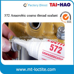 50ml & 250 ml for metal, slow cure thread sealant Loctit 572