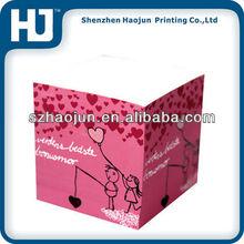 2012 lovely paper memo cubes