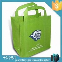 Economic professional promotional non-woven pink tote bag