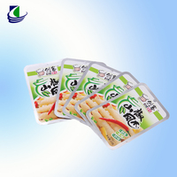 custom printed laminated packing materials plastic vacuum food bag