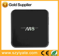 Hot selling shenzhen m8 android4.4 high standard quad core mainboard television smart tv