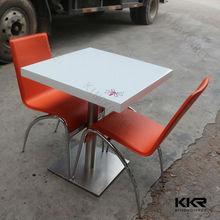 Kingkonree solid surface european classical coffee table