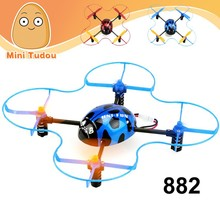 China Manufacture 2.4G 4 CH 4 Axis RC Ladybird RC Quadrocopter UFO with Gyro RC Drone RTF