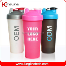 Any color 600ml custom shaker cups with ball OEM(KL-7010)