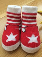 100% Combed Cotton 2015 New Born Baby Socks Cute Fashion