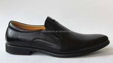 100%Genuine leather men dress shoes slip on shoes rubber sole