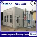 china fornecedor de cabine de pintura carro preço