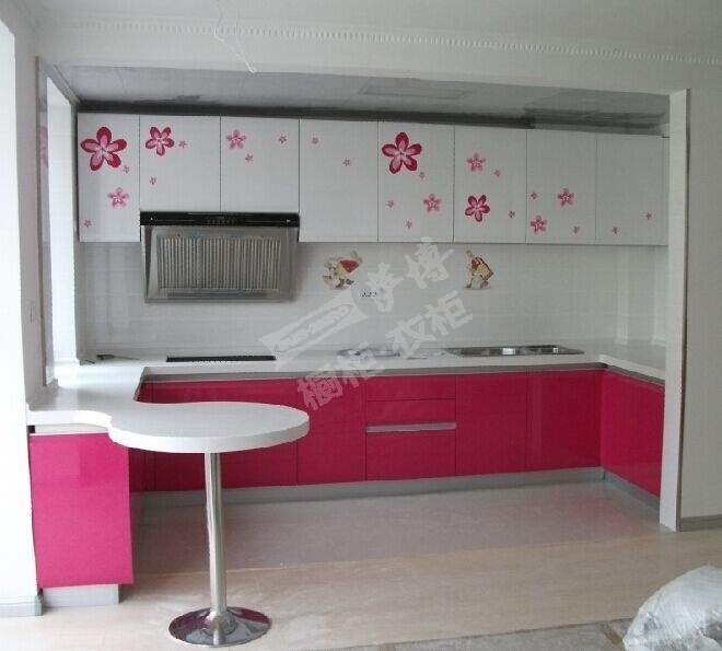 Buy Express Modular Kitchen Cabinets In High Gloss Finish: High Gloss Lacquer Mdf Kitchen Cabinet