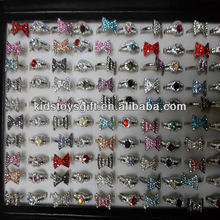 Fashion metal kids rings