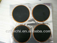 Inner tube tire repair cold patch