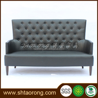 modern faux leather chesterfield sofa high back SO-510