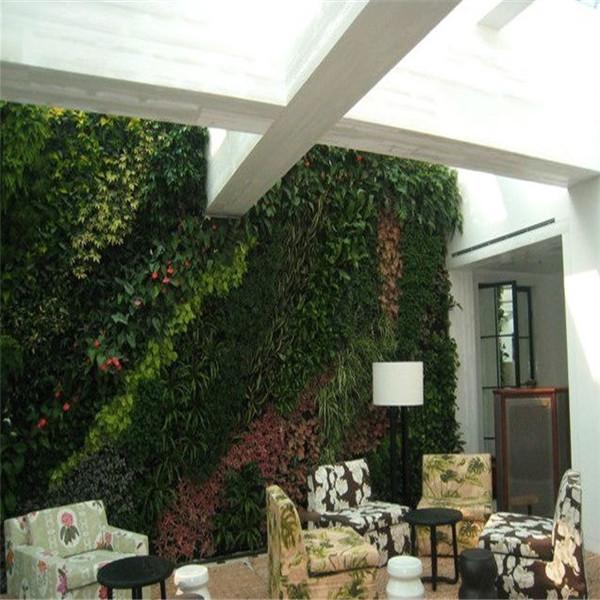 Chine gros plastique vert plantes artificielles mur pour - Arbustos artificiales para decoracion ...