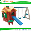 New Design Kids Plastic Outdoor Playground For Sale Big Indoor Plastic Playhouse With Slide For Kids