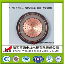 Low Voltage YJLV/YJV Power cable/electric cable/cabel
