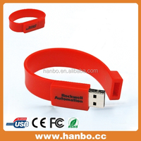best business gift any color silicon wristband usb flash drive