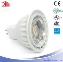 Shenzhen factory Kingliming Mr16 gu10 gu5.3 5w die casting 12v CE UL Rohs approved 3 years warranty mr16 led