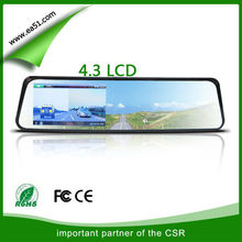 Dual lens vehicle car camera,can video front and back,dvr video recorder G-SENSOR