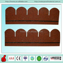 5 Tab Colorful Round Asphalt Shingle For Roofing