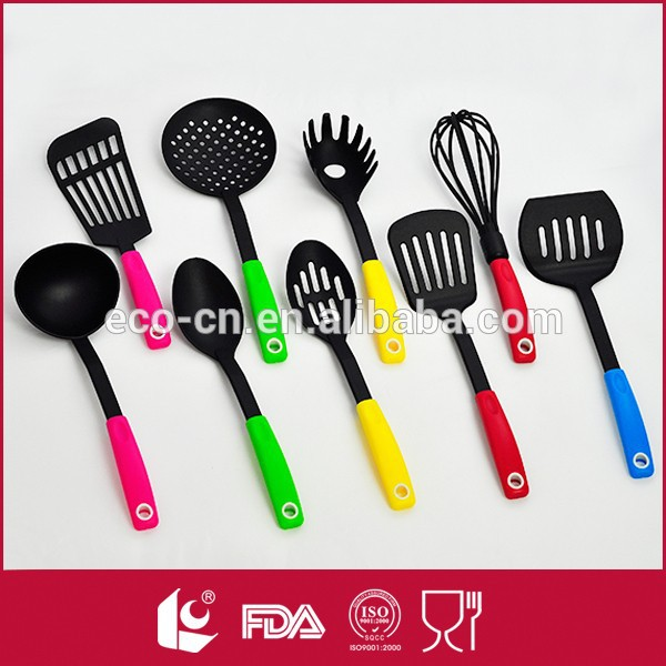Venta al por mayor fábrica de china 9 unids nylon spiralizer comprar herramienta de la cocina