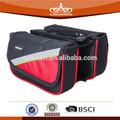 Para exterior sillines de bicicleta del asiento del bolso negro