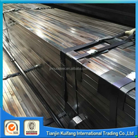 Tianjin annealed ms erw 40x40 steel square pipe for table