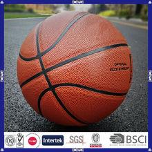 custom logo China manufacturer promotional inflatble match basketball