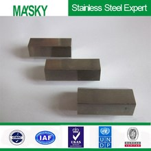 ASTM 316 stainless steel square bar 6m length in polish