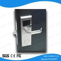 Zinc Alloy Electronic Swipe Card Door lock for hotel