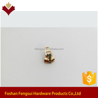 Foshan wholesale copper slider puller for shopping bag