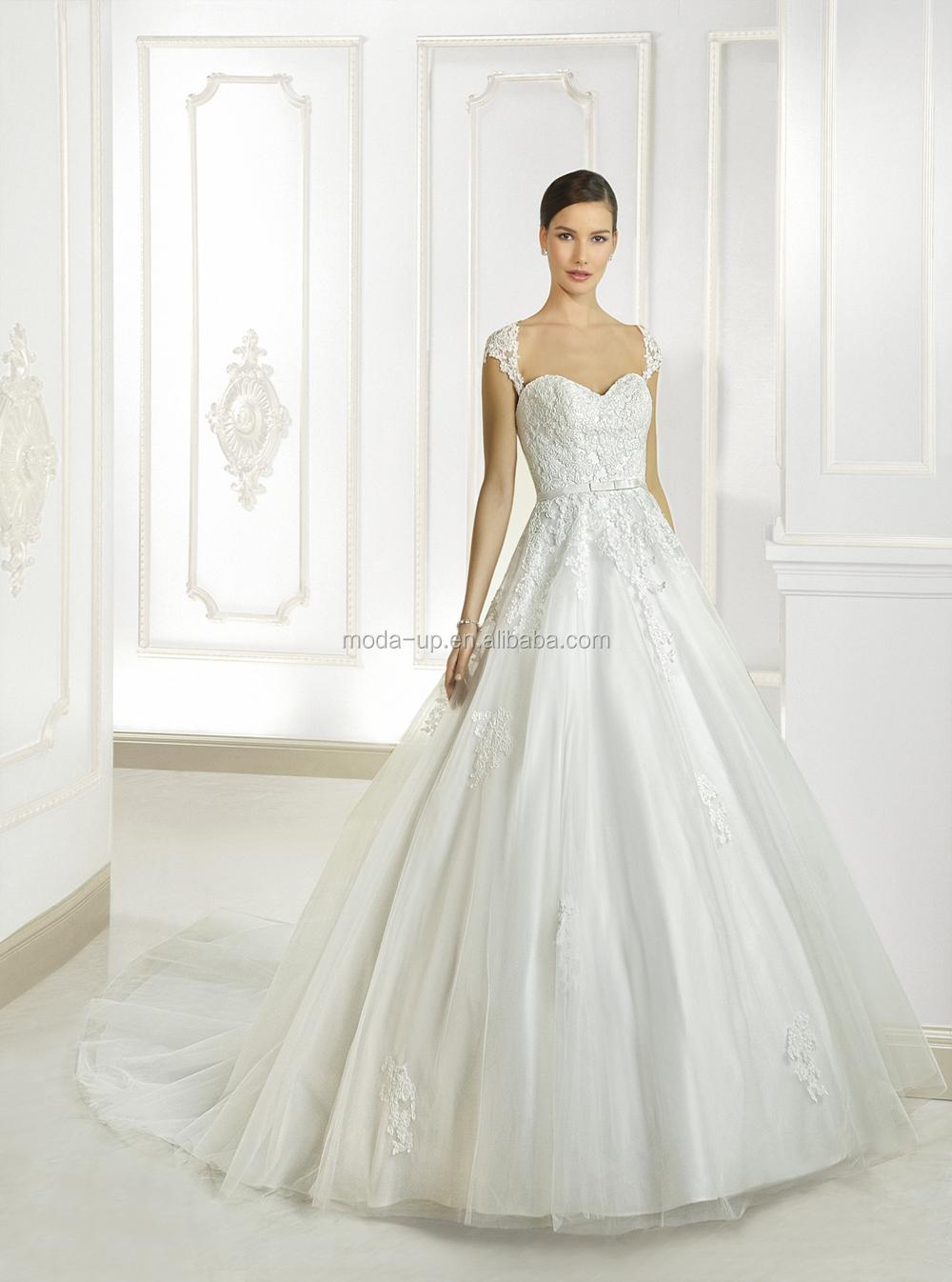Pour Bra Low Back Robe de mariée