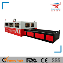 2KW IPG Metal Fiber Laser Cutting Machine for 10mm thick mass