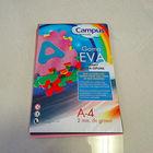 Eva cor papel craft a4( 5 sacos 60 peça)