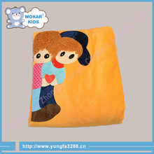 2015 Fashion Design Top Quality Baby Blanket Coral Fleece Fabric