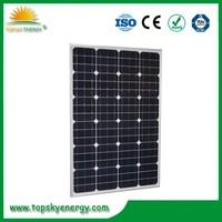 OEM mono crystalline silicon solar panel --- Factory direct sale