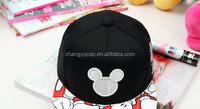 The new spring and summer fashion mickey cartoon hip-hop hat tidal flat along the baseball cap cap men and women