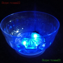 small size black round led serving tray for pub put fruit