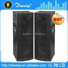 2.0 DJ high sound box speaker With USB/SD/FM/ ( bluetooth function optional)
