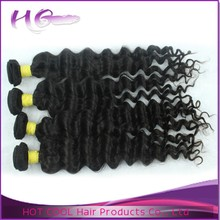 Top quality tangle free grade 7a fashionable beauty virgin jerry curl weave extensions human hair