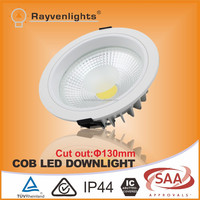 3 years warranty 130mm cut out 4 inch 12w cob indoor led downlight industrial lighting