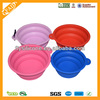 2014 China Supply new pet dog products unique products from china Silicone Bowl For Dog