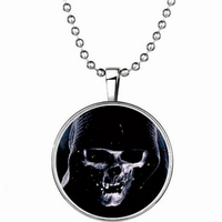 fashion hot selling Halloween Death luminous pendant necklace decoration