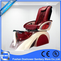 DS-w1 foot spa massage pedicure chairs US 2015 new design pedicure chair with pedicure sink