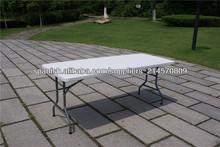plástico mesa plegable medio, mesa,tabla de eventos