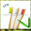 Best selling cheap bamboo child disposable mini toothbrush with toothpaste