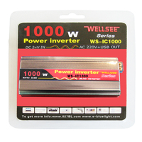 12v dc converter to 220 ac WS-IC1000W WELLSEE ac/dc converters in stock
