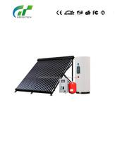 High pressure Solar Collector with solar keymark