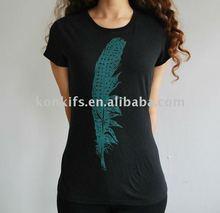 Custom Fashion Beaded T Shirt
