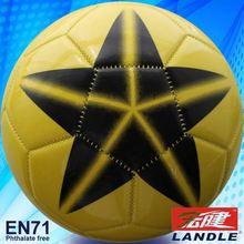 Leather Sewn 2012 new laminated soccer balls/football balls
