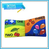 Baby Learning toy Baby Fabric Color Book Soft Cloth Book