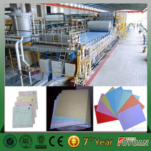 good performance A4 paper /writing paper /carbonless paper production plant